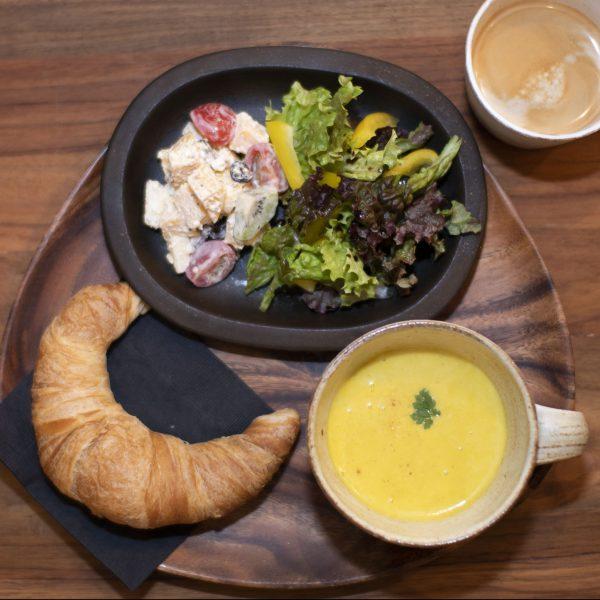 2019.1.12〈スープと焼きたてのパン〉